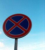 Signs No Waiting poster