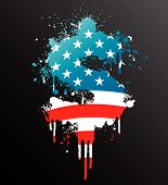 American Dollar Splatter Element