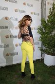 LOS ANGELES, CA - JUN 3: Daisy Fuentes at the 23rd Annual 'A Time for Heroes' Celebrity Picnic Benefitting the Elizabeth Glaser Pediatric AIDS Foundation on June 3, 2012 in Los Angeles, California