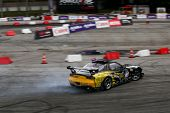KUALA LUMPUR - MAY 19: Thailand's Nattawoot driving a Nissan RX-7 makes a practice run during the Fo