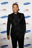 NEW YORK-JUNE 4: Singer John Legend Samsung's Annual Hope for Children gala at the American Museum o