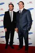 NEW YORK-JUNE 4: Driver Jimmie Johnson and New Orleans QB Drew Brees attend Samsung's Annual Hope for Children gala at the American Museum of Natural History on June 4, 2012 in New York City.