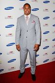 NEW YORK-JUNE 4: New York Giants player Travis Beckum attends Samsung's Annual Hope for Children gal