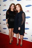 NEW YORK-JUNE 4: TV personality Jacqueline Laurita and Caroline Manzo attend Samsung's Annual Hope f