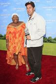 LOS  ANGELES- JUN 4: Adam Sandler, Luenell Campbell at the premiere of Columbia Pictures' 'That's My Boy' at the Regency Village Theater on June 4, 2012 in Los Angeles, California