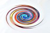 Abstract Swirl Of Color
