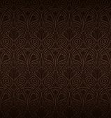 Seamless Art Nouveau pattern