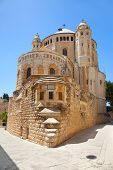 Dormition Abbey church - This church is a landmark of the city, and is the site where the Virgin Mary is said to have died, or fell into 'eternal sleep' . Jerusalem. Israel