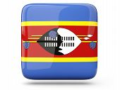 Square Icon Of Swaziland