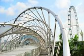 Helix Bridge In Singapore