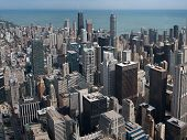Chicago Skyscrapers From Willis Tower