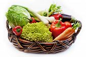 Vegetables In The Basket 2