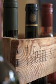 Wine Box With Bottles