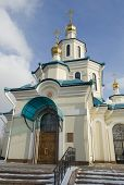 Church of the Holy Martyrs Faith, Hope, Charity and their mother Sophia. Krasnoyarsk