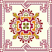 Seamless Ornament Tile
