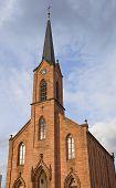 Evangelische Kirche (1874) In Kehl, Deutschland