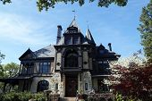 The Rhine house at Beringer winery in Napa Valley, California