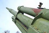 Alte Niederhaltung Waffe des zweiten Weltkrieges