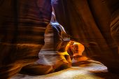 picture of antelope  - This image was taken in Upper Antelope Canyon, Arizona.