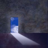 Doorway Opens To Sky