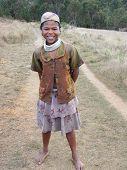 Madagassische native Mädchen