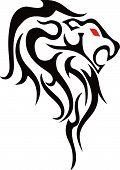 Tattoo Lion.