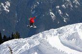 Red Snowboarder