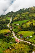Estradas rurais de alta Altitude