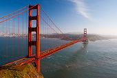 Golden Gate-Ansicht