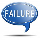 pic of fail job  - failure fail exam or attempt can be bad especially when failing an important job task or in your study failing an exam - JPG