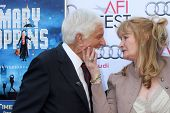 LOS ANGELES - NOV 9:  Dick Van Dyke, Karen Dotrice at the AFI FEST