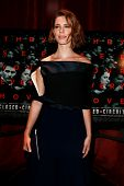NEW YORK-AUG 19: Actress Rebecca Hall attends the 'Closed Circuit' screening at the Tribeca Grand Ho