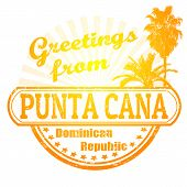 Greetings From Punta Cana Stamp