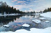 Misurina Lake and Sorapis Group in the Dolomites, Italy, Europe