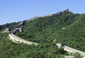 A Section Of The Great Wall Of China, In Badaling, Beijing