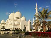 Sheikh Zayed Mosque in Abu Dhabi