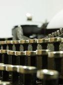typewriter. macro.