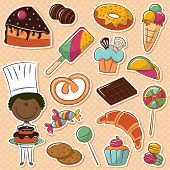 pic of confectioners  - Cute African - JPG