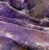 Charoite (k(ca;na)2Si4O10(oh;f)·h2O) Is A Rare Silicate Mineral. Extreme Closeup. Macro