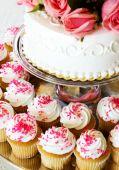 Wedding cake/cupcakes