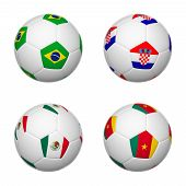 Soccer Balls Of Brazil 2014, Group A
