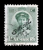 Luxembourg stamp 1922