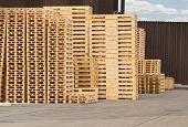 Wooden Pallet Stack