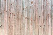 Old Wooden Wall In Red And Green Colors