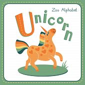 Letter U - Unicorn