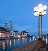 Summertime Evening in Zurich