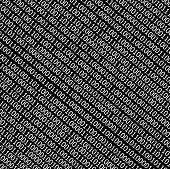 Binary Code Stream Background