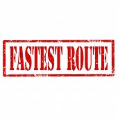 Fastest Route-stamp