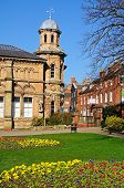 Old library and park, Lichfield.