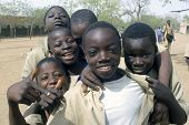 Schoolboys In Burkina Faso